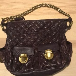 Marc Jacobs quilted leather multi pocket bag